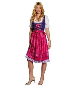 Dirndl kjole, pink