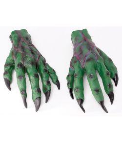 Grønne monsterhænder