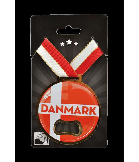 Danmark medalje oplukker