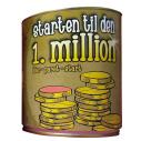 Sparebøsse Starten til den 1. million