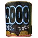 Sparebøsse 2000 kr.