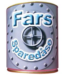 Sparebøsse Fars sparedåse