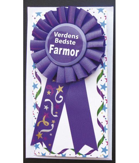 Rosette Verdens bedste Farmor