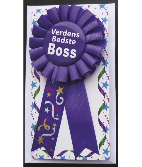 Rosette Verdens Bedste Boss