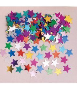 Stjernekonfetti - multi