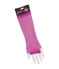Pink nethandsker