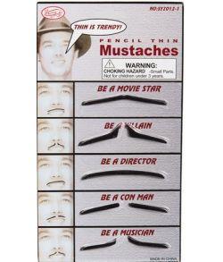 Tynde moustacher