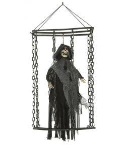 Sort spøgelse i bur