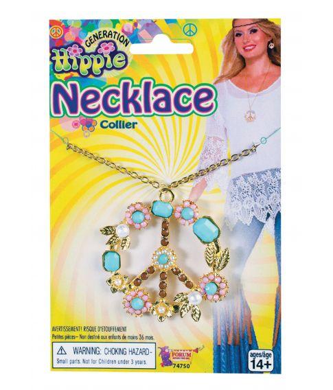 Hippie Peace halskæde