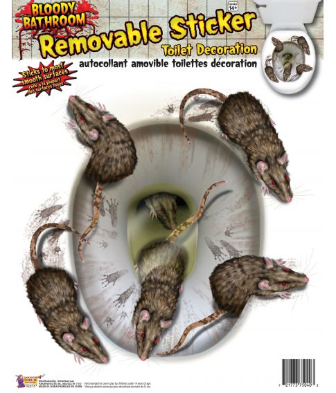Rotter toliet dekoration
