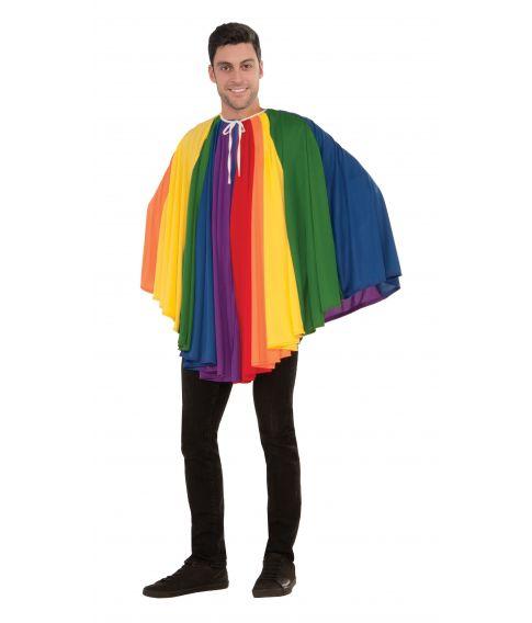 Regnbue kappe