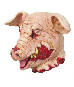 Blodig grisemaske