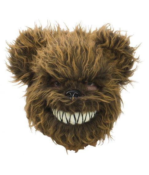 Evil Teddy maske, brun