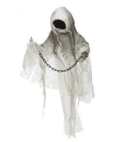 Spøgelse med kæde - halloween dekoration