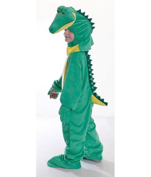 Krokodille kostume