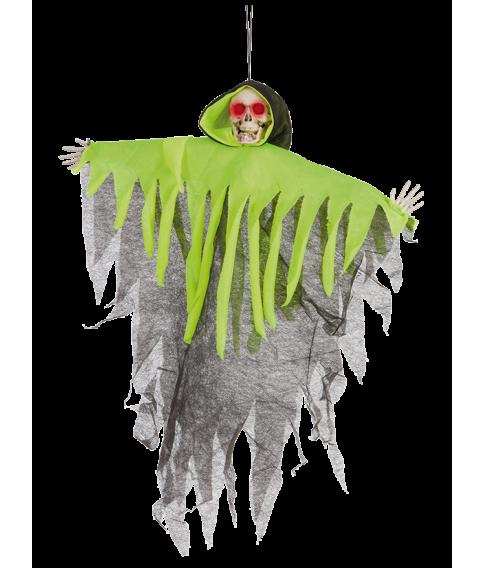 Spøgelse med neonkappe