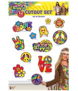 Hippie papskilte