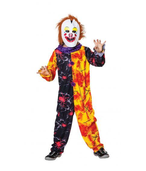 Horror Clown Boy kostume