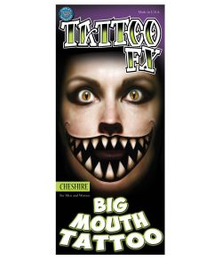 Cheshire Big Mouth tatovering