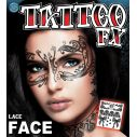 Lace Face tatovering