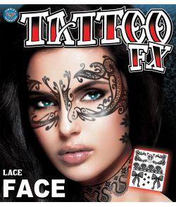 Lace Face tatovering