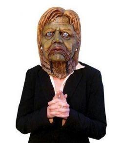 Zombie Hillary maske