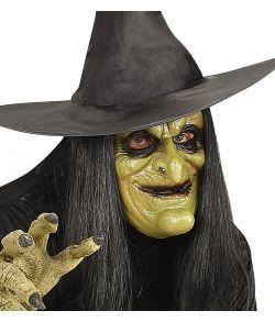Grøn Heksemaske