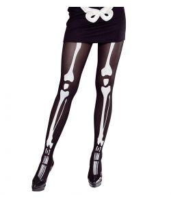 Skelet strømpebukser XL