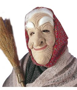 Heksemaske med tørklæde