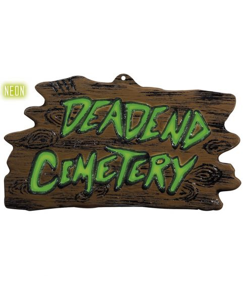 Deadend Cemetery skilt