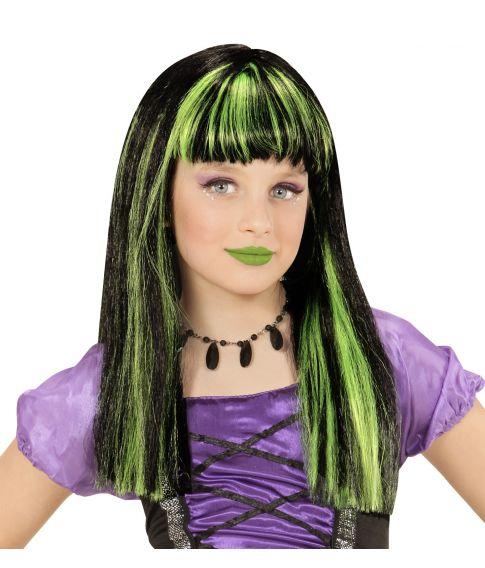 Hekseparyk, grønne striber