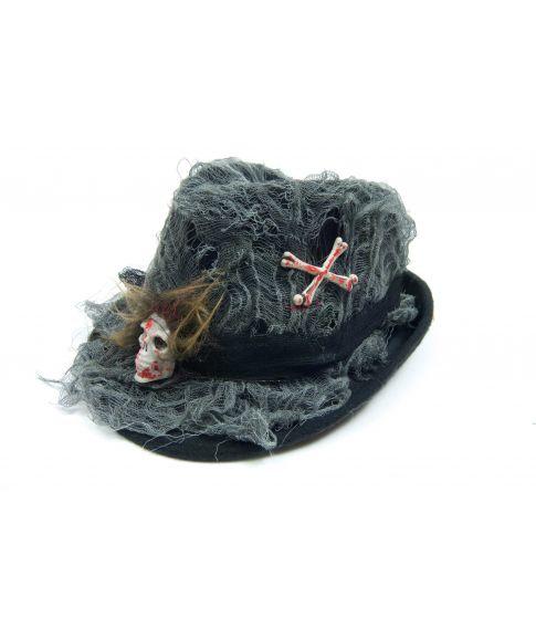 Hat med kranie