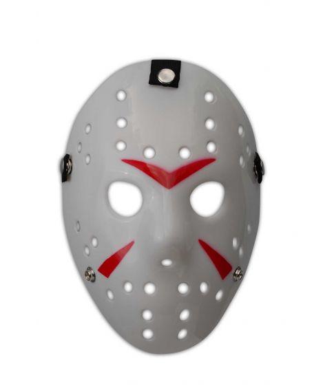 Jason Hockey maske, hvid