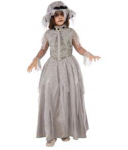 256b9c94 Flot halloween brudekjole til piger