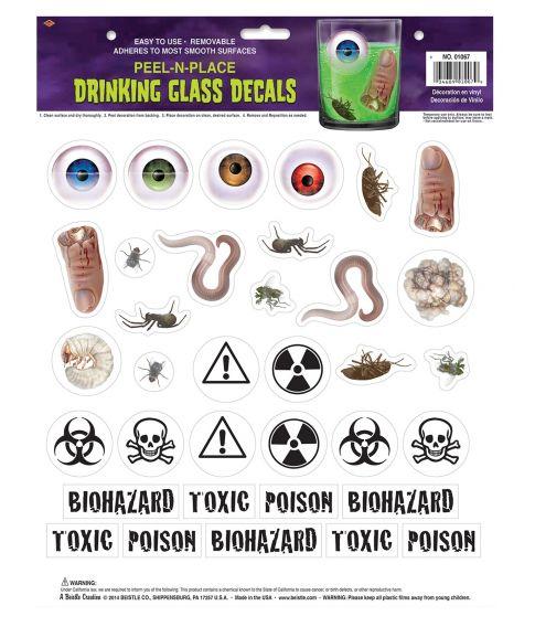 Glas stickers