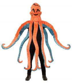 Blæksprutte kostume
