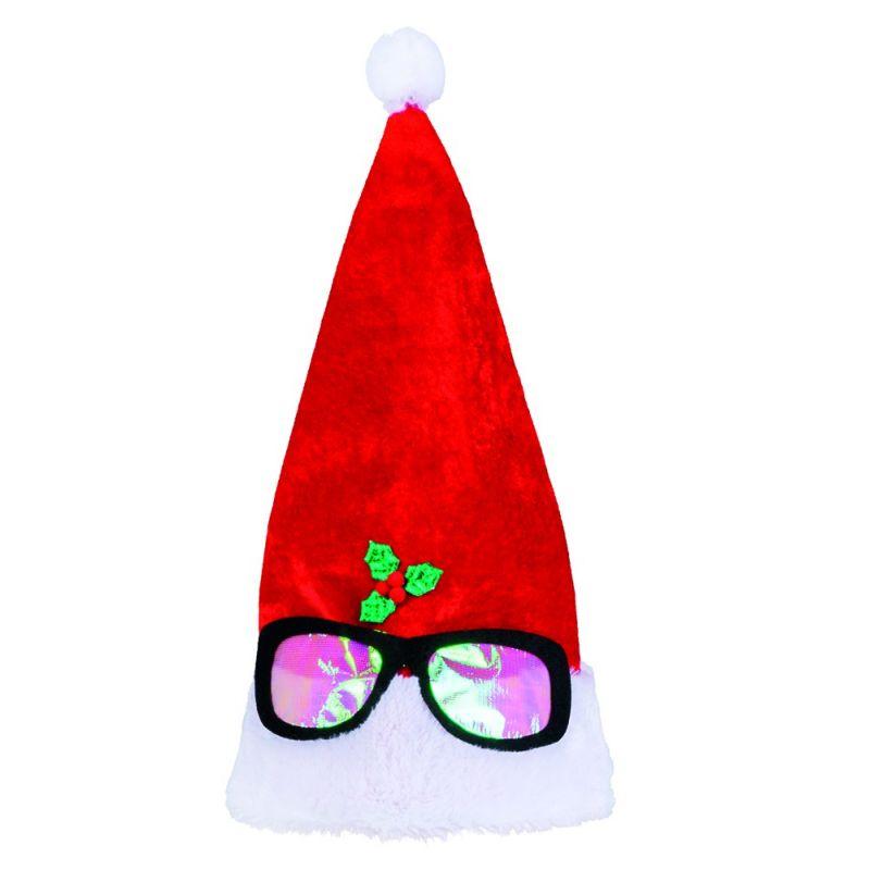 22f335b36353 Nissehue med briller - Fest   Farver