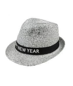 Sølv nytårshat