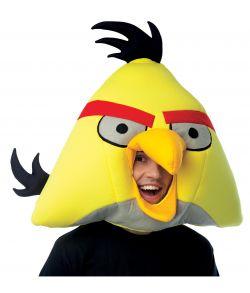Gul Angry Bird maske
