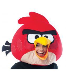 Rød Angry Bird maske