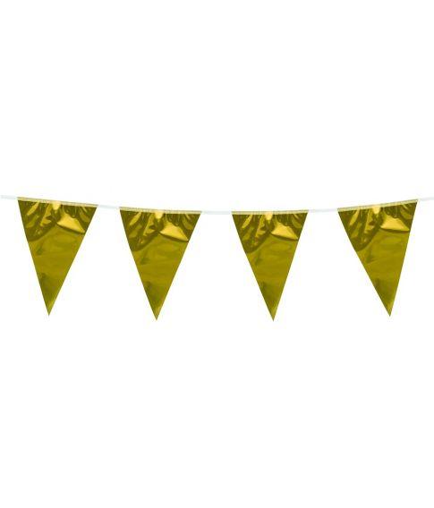 Guld vimpelguirlande