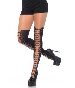 Strømpebukser med støvle