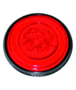 Eulenspiegel Neonrød sminke, 3,5 ml