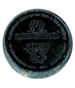 Sort perleglanspulver, 3,5 ml.