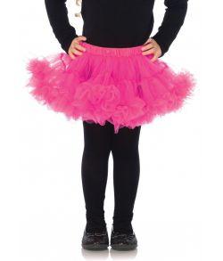 Hot Pink tylskørt, barn