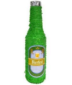 Ølflaske pinata