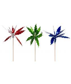Cocktailsticks med glimmerpalmer