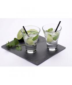 Cocktailsugerør sort