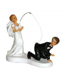 Brudepar figur