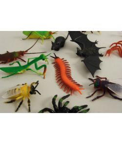 Blandede insekter
